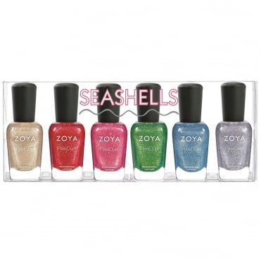 Nail Polish Seashells 2016 Collection - Six Piece Set (6x 14ml)